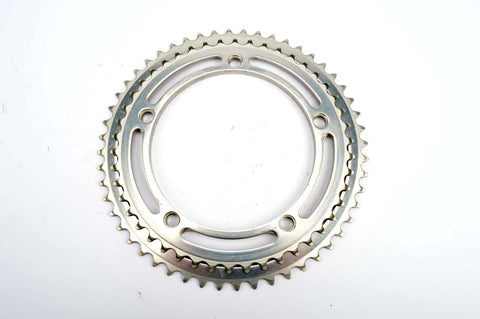 Sugino Mighty Competition chainrings in 46/52 teeth and 144 BCD from the 1980s