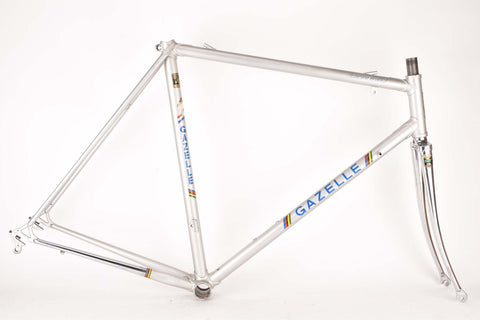 Gazelle Champion Mondial AA Special frame in 56 cm (c-t) 54.5 cm (c-c) with Reynolds 531 tubing