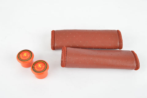 NOS/NIB Georges Sorel Grips in red, with 110mm length