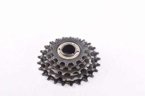 Shimano 600 #FC-600 5-speed Freewheel with 14-25 teeth and english thread from 1978