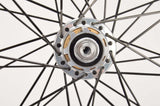 Wheelset with Mavic CXP 33 clincher rims and Campagnolo Record Exa-Drive hubs from the 1990s
