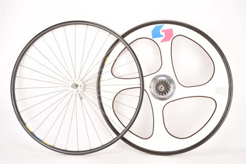 "28"" (700C) Time Trial Wheelset with Mavic Open 4 CD Clincher Rims and Dura-Ace #H-731 & #H-831 Hubs"