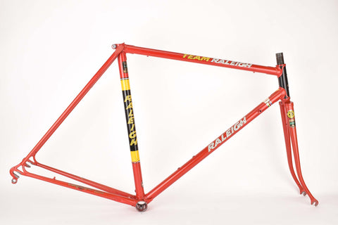 Raleight Team T.I. Raleigh 531 frame in 54.5 cm (c-t) / 53.0 cm (c-c) with Reynolds 531 tubing from 1979