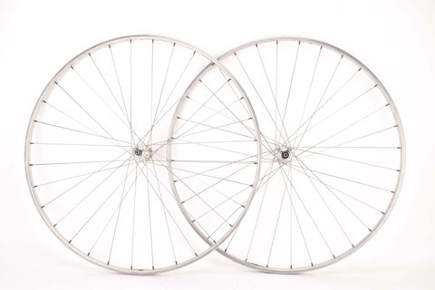 "28"" (700C) extra light Wheelset with Nisi Moncalieri Tubular Rims and Campagnolo record #1034 Hubs"