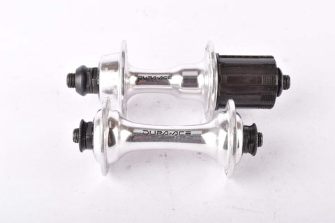 Shimano Dura-Ace #HB7400 & #FH-7403 integrated 8 speed Uniglide and Hyperglide Hub set with 36 holes from 1990