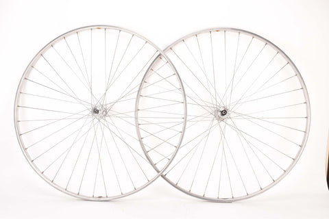 "28"" (700C) Wheelset with Nisi Moncalieri Tubular Rims and Campagnolo record #1034 Hubs"