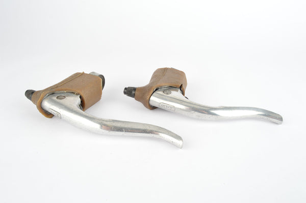 STM Brake Lever Set with brown hoods, from the 1960s