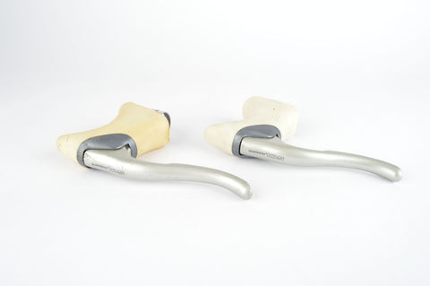 Shimano 105 SC #BL-1055 aero brake lever set with white hoods