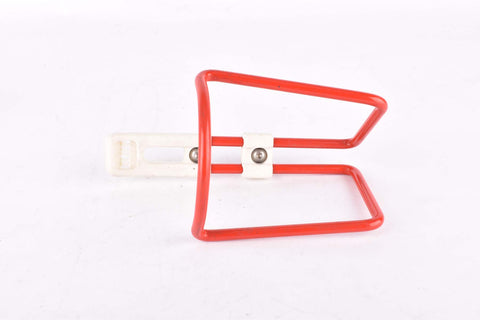 Elite red alu water bottle cage