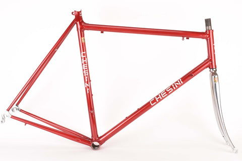 restored Chesini Innovation frame 60 cm (c-t) / 53 cm (c-c) Columbus EL tubing
