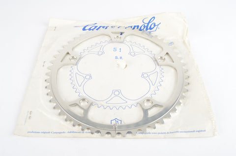 NEW Campagnolo Super Record #753/A Chainring in 51 teeth and 144 BCD from the 1970s - 80s NOS/NIB