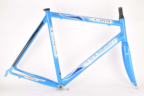 Pinarello Prince frame in 61.5 cm (c-t) 57 cm (c-c) with Aluminium and Carbon tubing