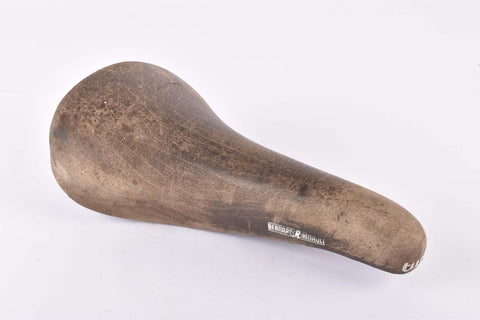 Brown Selle Italia Turbo Bernard Hinault Saddle from the 1980s
