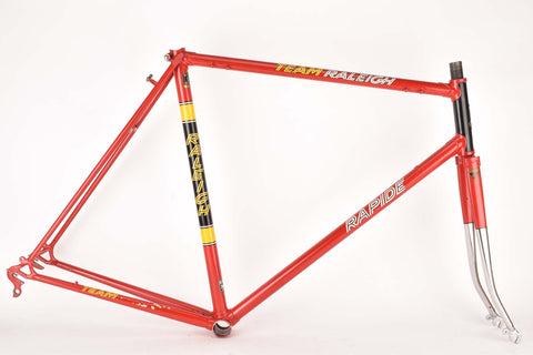Raleigh Rapide Team frame in 57.5 cm (c-t) 56 cm (c-c) with Reynolds 531 tubing