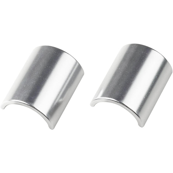 VeloOrange Alloy Handlebar Shims for 31.8 to 25.4mm (Two Piece), silver