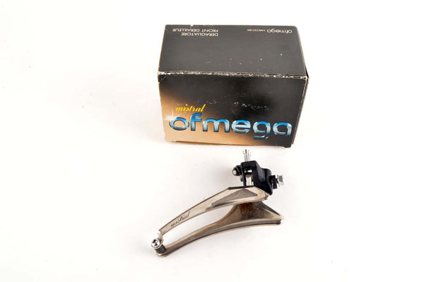 NEW Ofmega Mistral braze-on front derailleur from the 80s NOS/NIB
