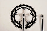 Shimano Dura Ace black GA-200 first Generation Crankset in 175 length, 1970s