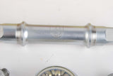 NEW Campagnolo Triomphe Bottom Bracket with french threading and 115 mm length from 1985 NOS/NIB