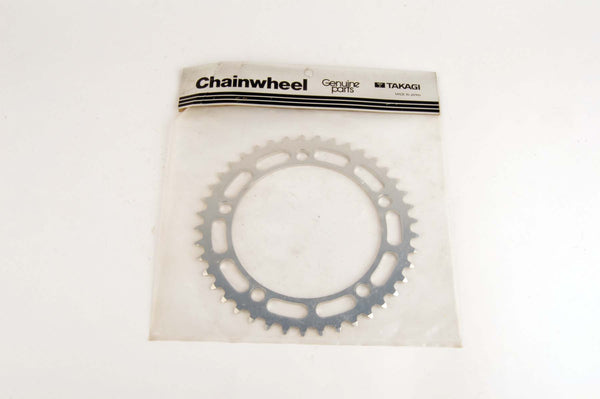 NEW Takagi Chainring 41 teeth and 130 mm BCD from the 80s NOS/NIB