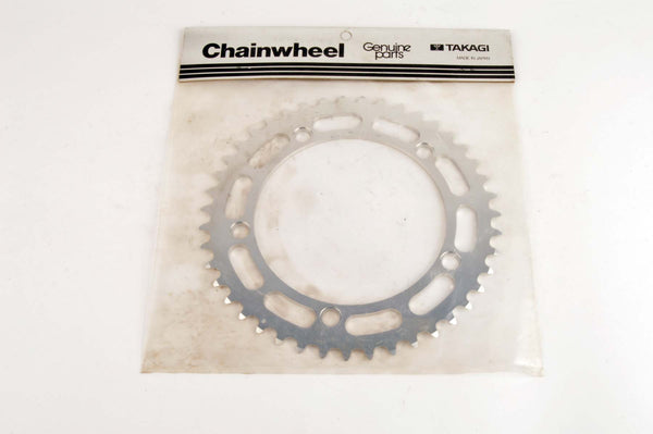 NEW Takagi Chainring 43 teeth and 130 mm BCD from the 80s NOS/NIB