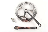 Stronglight 3-arm Spider cottered steel crankset with chainrings 46/50 teeth and 170mm length from the 1950s - 60s