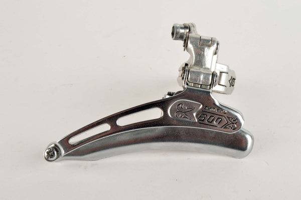 NEW Shimano 600EX Arabesque #FD-6200 clamp-on front derailleur from 1979 NOS