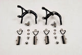 Black anodized Shimano BR-7210 Dura Ace EX brake calipers from the early 80s