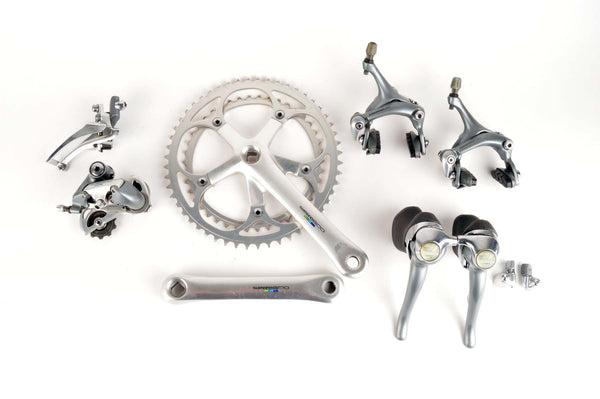 Shimano 600 Ultegra Tricolor #6400 #6401 #6403 Groupset from the 1990s