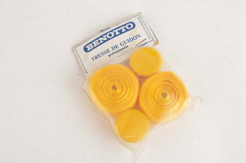 NEW Benotto Professional Cello Tape handlebartape in gold from the 70s -80s NOS/NIB