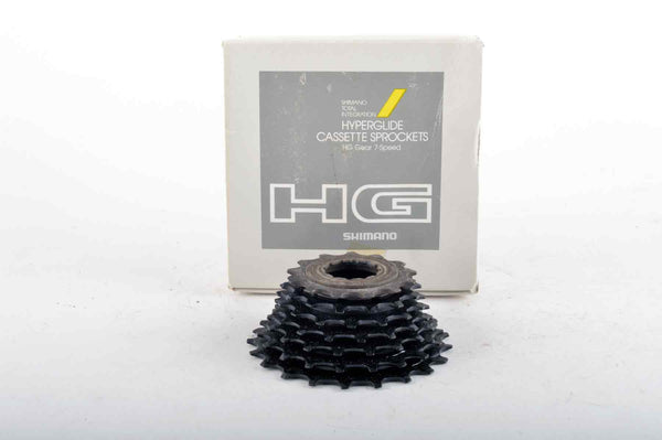 NEW Shimano CS-HG50 Hyperglide 7-speed cassette with 13 - 21 teeth NOS/NIB