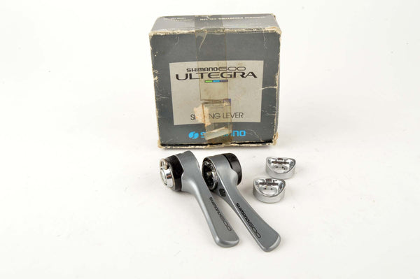 NEW Shimano 600 Ultegra Tricolor #SL-6400 braze-on 7-speed shifters from the 1990 NOS/NIB