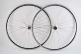 Wheel Set Rigida SHP 60 clincher rims with Campagnolo Stratos hubs from the 1990s