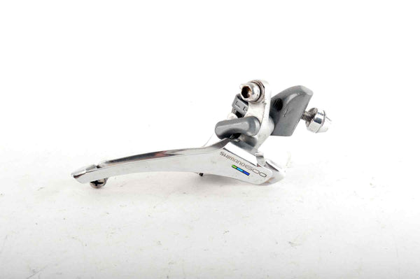 Shimano 600 Ultegra Tricolor #FD-6400 braze-on front derailleur from 1988