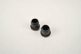 Black Peugeot Bar End Handlebar plugs from the 1970s - 80s