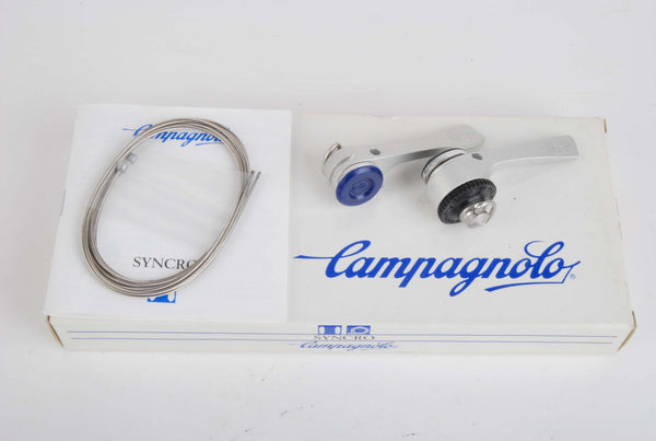 NEW Campagnolo Syncro II Athena 7-speed braze-on shifters from the 80-90s NOS/NIB