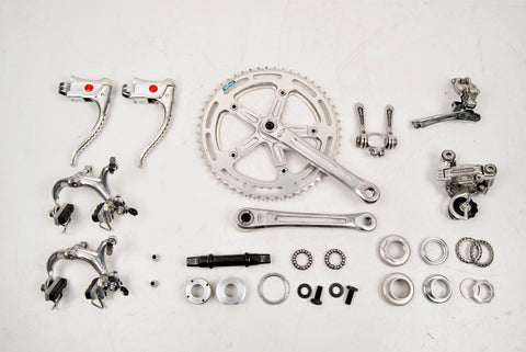 Shimano 600EX Arabesque groupset from the late 70s - 80s
