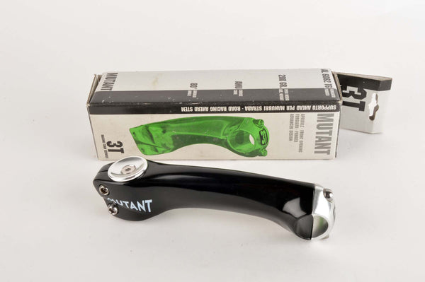 NEW black 3ttt Mutant Ahead Stem in size 140 with 25.8/26mm clampsize from the early 90s NOS/NIB