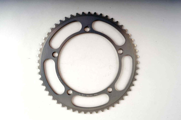 NEW SR Sakae / Ringyo Royal LA-5 chainring with 53 teeth, 144 BCD from 1980s NOS