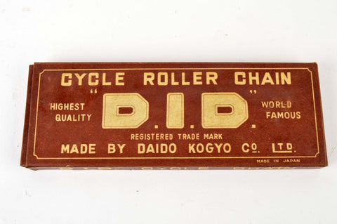 NEW D.I.D. 1/2 x 1/8 track bike chain from the 1980 NOS/NIB