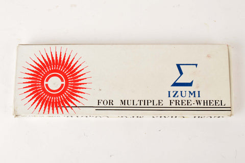 NEW Izumi 5-6-7 speed road chain 1/2 x 3/32, 116 links from the 1980s NOS/NIB