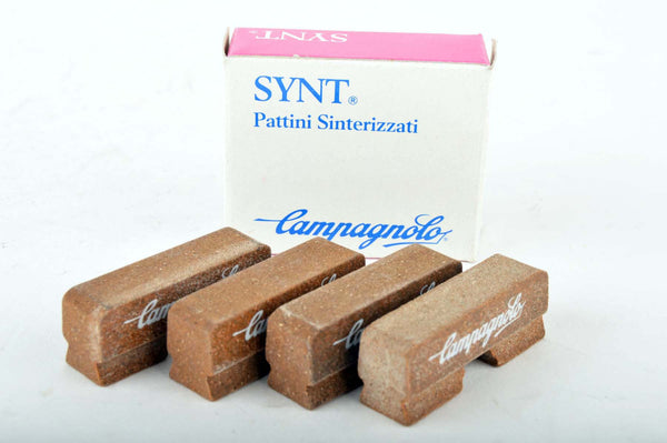 NOS Campagnolo center cut Synt replacement brake pads (4 pcs) NIB