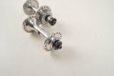 Campagnolo Record #1034 low flange hub set from the 1960s - 80s