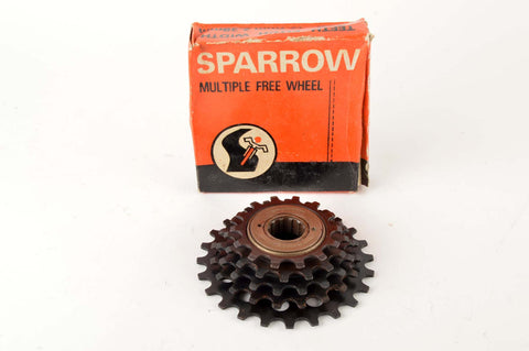 NEW Sparrow 5-speed Freewheel with 14-24 teeth from the 1980s NOS/NIB