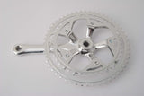 New Ofmega Mundial crankset in 170mm length and with chainrings 42/52 teeth from the 1980s NOS