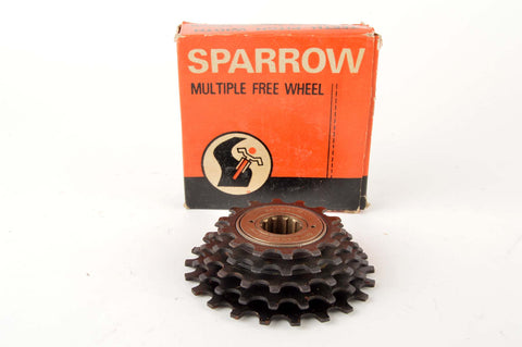 NEW Sparrow 5-speed Freewheel with 14-22 teeth from the 1980s NOS/NIB