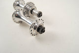 Campagnolo Chorus #722/101 low flange hub set from the 1980s