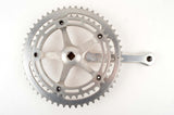 Campagnolo Nuovo Record #1049 crankset with chainrings 42/53 teeth and 170mm length from the 1970s - 1980s