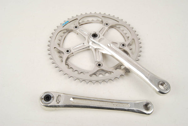 Shimano 600EX Arabesque #FC-6200 crankset with chainrings 42/52 teeth and 170mm length from 1977