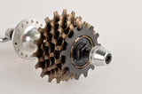 NEW Shimano 105 Golden Arrow #HB-F105 Rear Hub incl. skewers and 6-speed cassette from the 1980s NOS