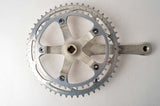 Shimano 600EX #FC-6207 crankset with chainrings 42/52 teeth and 170mm length from 1985
